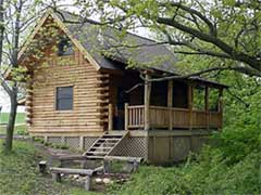 The Natural Gait | Red Oaks Hide Away Cabin
